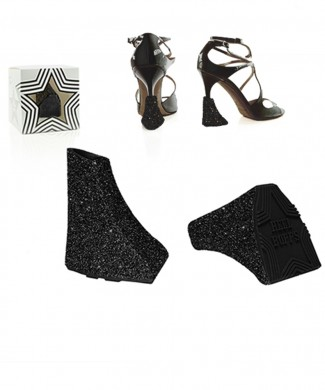 Heelbopps StarDust Black add-on Styling heels