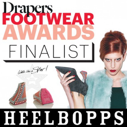 Drapers Fottwear Awards Finalist Add-on heels