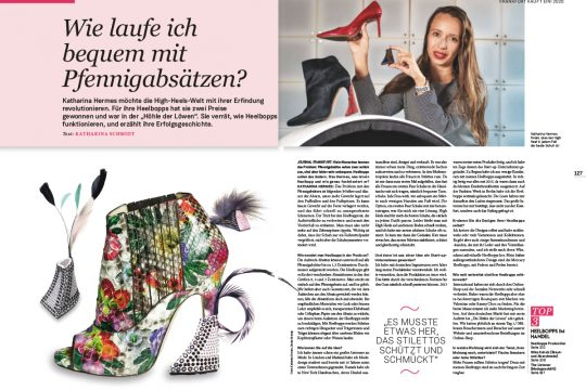 HEELBOPPS presse artikel Journal Frankfurt